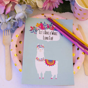 Llama Party Activity Booklet - Individual - The Party Pack Co