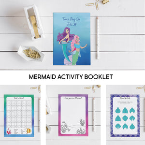 Activity Book Mixed Bundle Pack- 10  people - The Party Pack Co