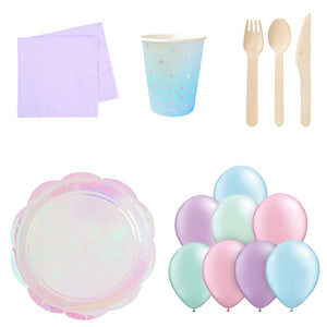 Mini Home Party Pack - Mermaid or Unicorn (up to 10 people) - The Party Pack Co
