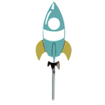 Space Rocket - Cake Topper - The Party Pack Co