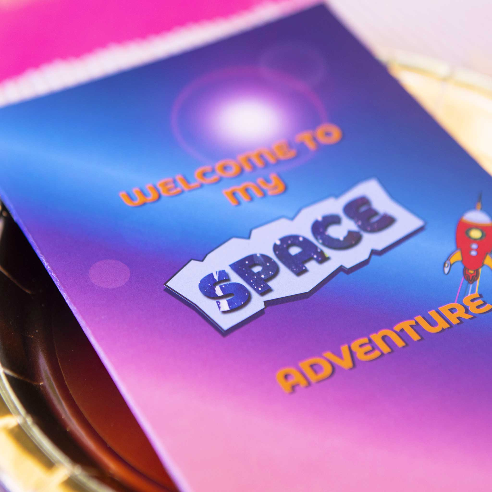 Space Party Activity Booklet - Individual - The Party Pack Co