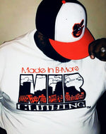 Made In Bmore City Wide T-Shirt