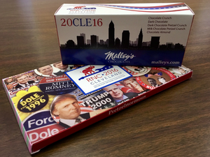 Malley's Chocolates — Merchandising with Digitally Printed Custom Packaging at the Republican National Convention