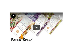 "NEW VIDEO: PaperSpecs Spotlights Fleurir, Narrated by the ""Paper Queen"""