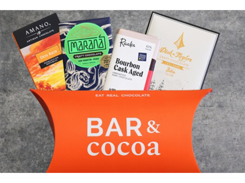 Bar and Cocoa chocolate subscription service