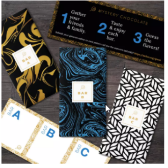 Mystery chocolate subscription service
