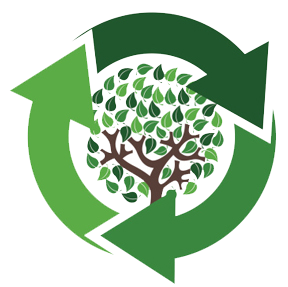 Sustainability picture with arrows going around in a circle