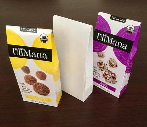 ulimana prototype tap packaging