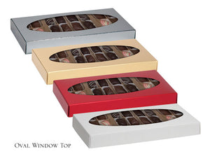 Two-Piece Folding Candy Box Lid, 21pc (Closeout)