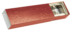 4pc Embossed Truffle Slide
