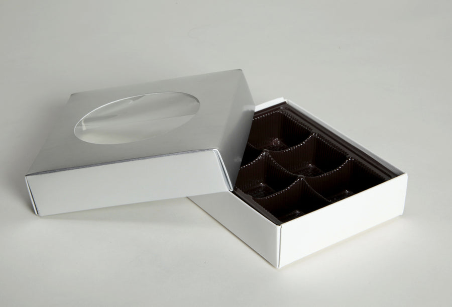 Two-Piece Folding Box Lid, 6pc (Closeout)