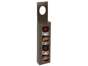 Wine Hanger with 4Pc Confection Tray