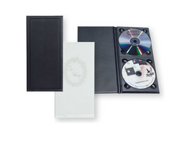 Double CD/DVD Photo Album (2 Disks)