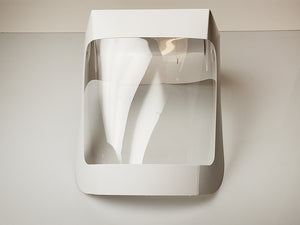 Disposable Paperboard Face Shield