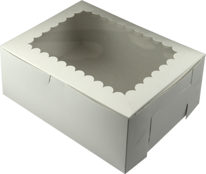 Cupcake Box with Side Locks