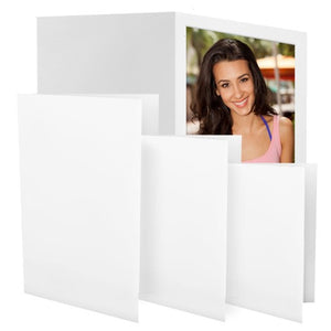 Plain White Photo Folder (Closeout)