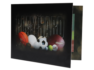 Play Hard Sports Photo Folder