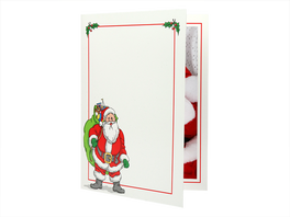 Santa Photo Folder (Retail-Ready)