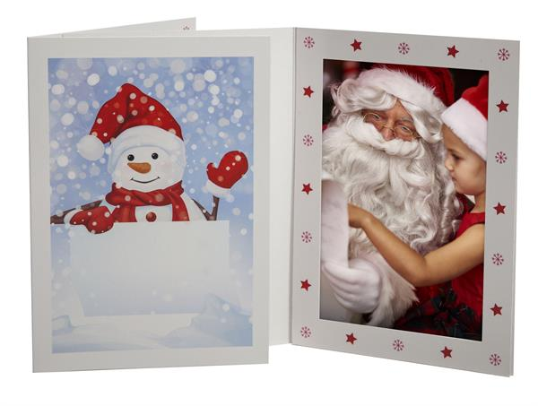 Snowman Photo Folder (Retail-Ready)