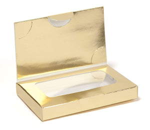 Business Card Box with Flap
