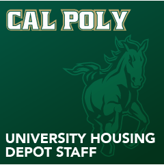 Cal Poly - University Housing Depot Staff