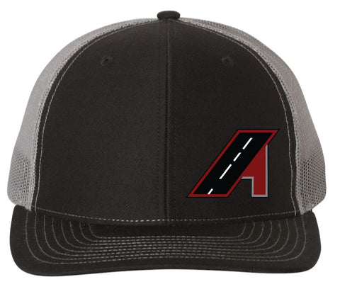 Amistad Freight - Black/Charcoal Snapback Trucker Hat