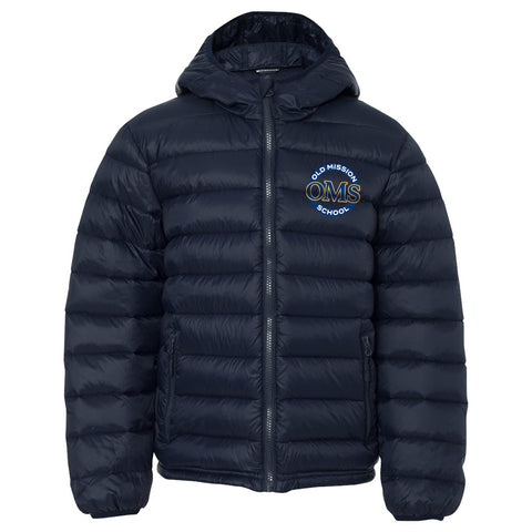 "OMS Approved for School - Down ""PUFFY"" Jacket"