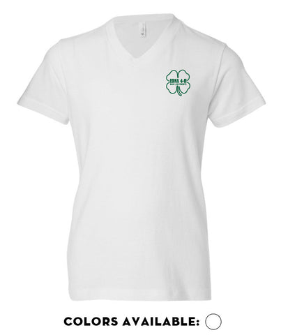 Edna 4-H - Youth V-neck Tee