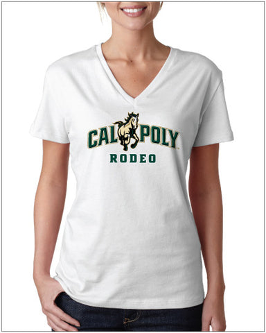 CP Rodeo Relaxed Fit V-neck • White