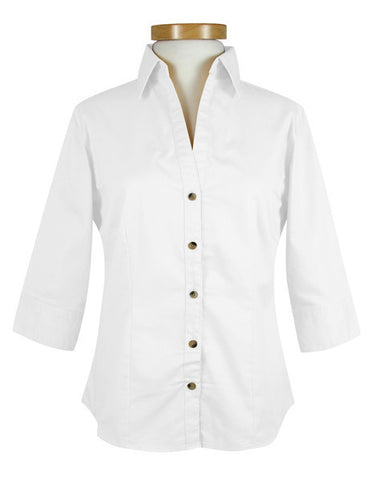 CP NRES21 - Ladies' 3/4 Sleeve Blouse
