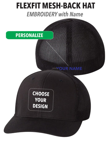 Atascadero Police - FlexFit Mesh-Back Hat - PERSONALIZE