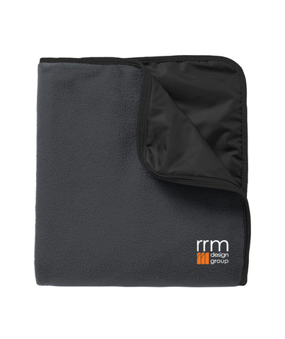RRM Design Group - Fleece & Poly Travel Blanket