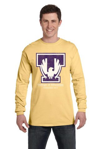 TTU - CoE Comfort Colors LONG Sleeve