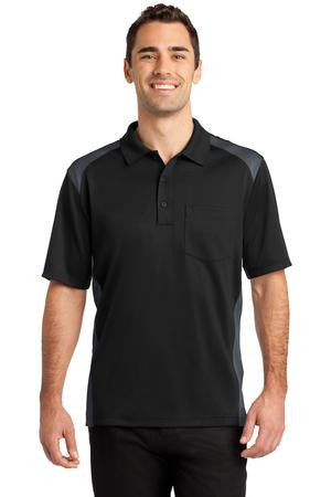 FMD11 - Men's Cornerstone Select Snag-Proof Two Way Colorblock Pocket Polo