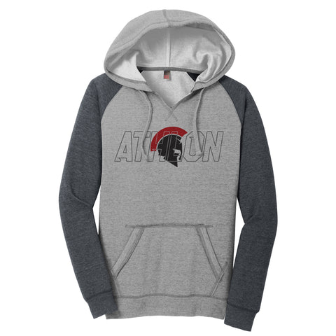 Athlon Ladies Lightweight Raglan Hoodie
