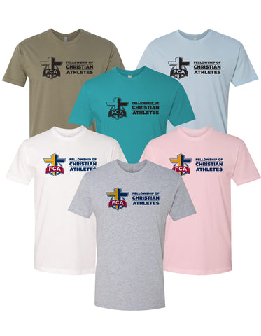 FCA - Short Sleeve T-Shirt (Front Center Logo)