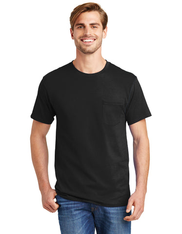 FMD55 - Hanes® 100% Cotton T-Shirt with Pocket
