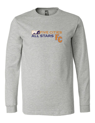 Five Cities All-Stars - Long Sleeve Cotton T-Shirt