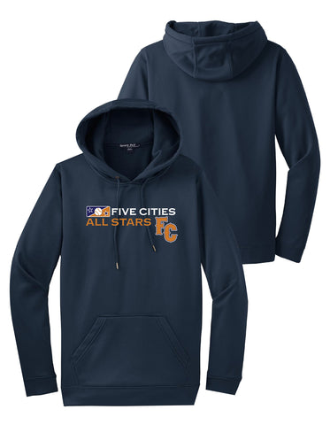 Five Cities All-Stars - Adult Pullover Hooded Pullover
