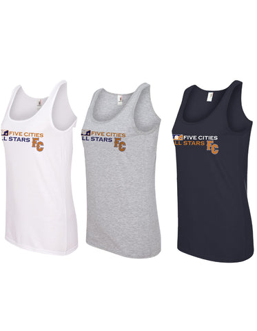Five Cities All-Stars - Ladies Cotton Tank Top