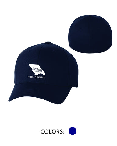 SLO Public Works - FlexFit Hat