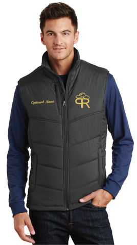 Purdue Rodeo Men's Puffy Vest - FREE SHIPPING
