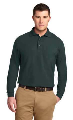 CP Office of Equal Opportunity - Long Sleeve Cotton Pique Polo