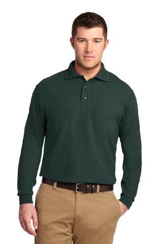 Cal Poly AFD - Long Sleeve Polo