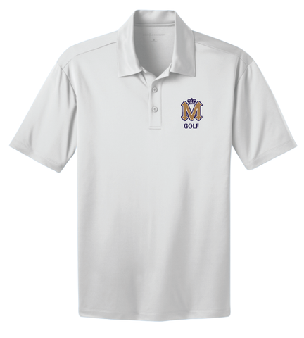 Mission Prep Golf Men's White Polo