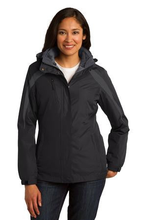 FMD43 - Port Authority Ladies Color Block 3-in-1 Jacket