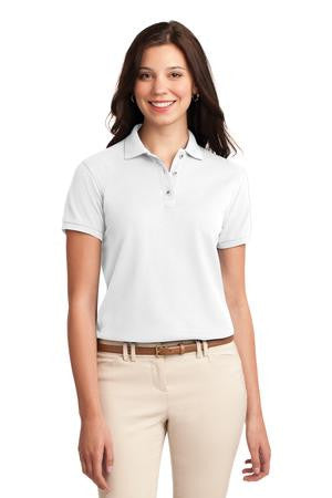 FMD26 - Ladies' Silk Touch Poly/Cotton Pique Polo