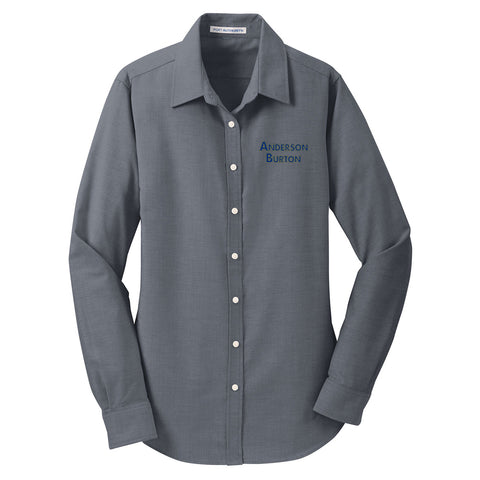 Anderson Burton - Ladies Long Sleeve Oxford