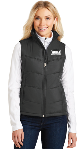 WCBRA Ladies Puffy Vest - FREE SHIPPING