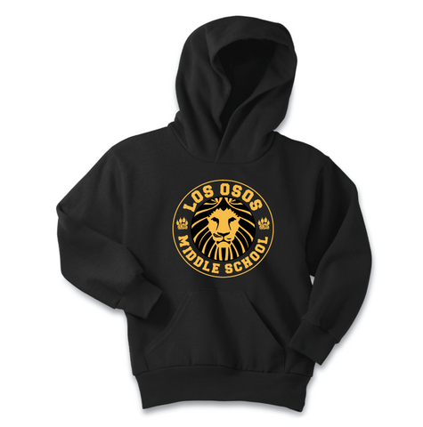 Los Osos Middle School - Standard Print Hoodie - Pre-Order through Oct. 1st